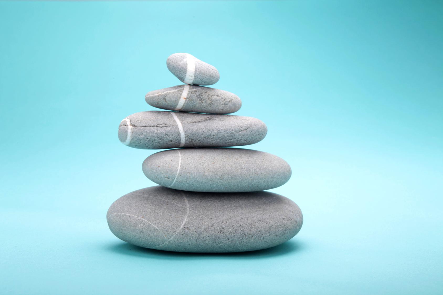 stack of 5 rocks